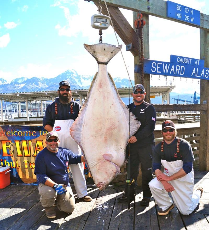 Crackerjack takes the 2014 seward halibut jackpot for Seward halibut fishing