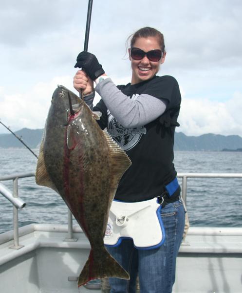 Full day fishing charters from seward alaska crackerjack for Seward halibut fishing