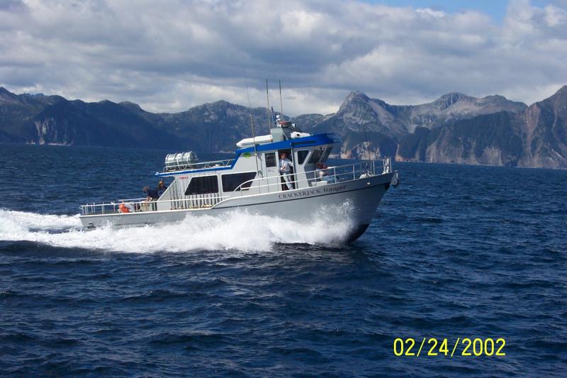 Crackerjack Alaska Sportfishing Fleet Seward Halibut