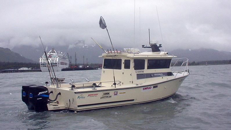 Alaska salmon fishing charters crackerjack sportfishing for Alaska fishing boats